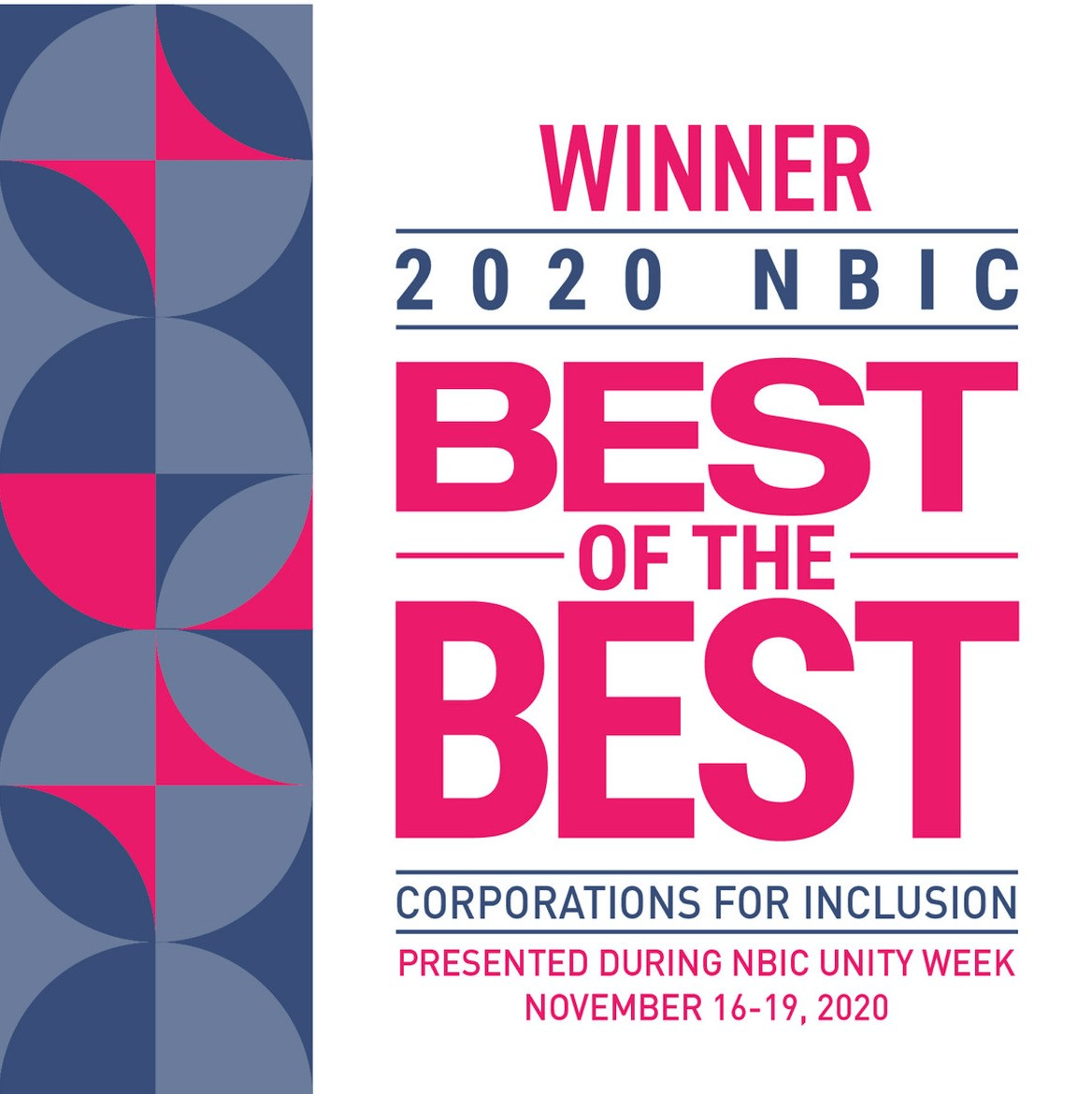 NBIC Best of the Best Award 2020
