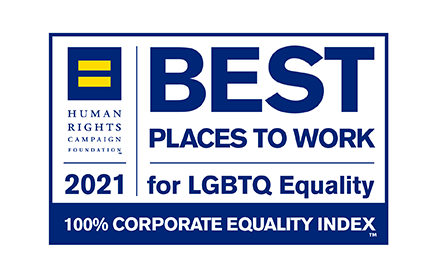 HRC Best Place to Work LGBTQ Award Logo